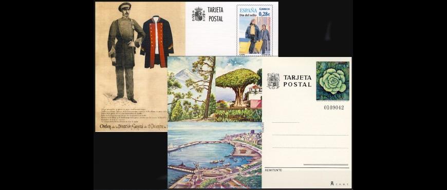 Tarjetas entero postales