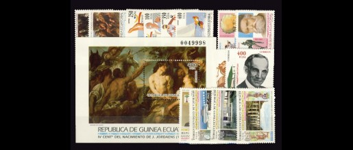 Guinea Ecuatorial. Años completos