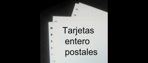 España. Tarjetas  entero postales