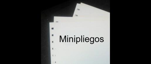 Spain. Minisheets