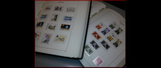 Collections of stamps from Spain