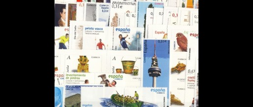 Spanish stamps 2008