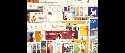 Spanish stamps 2009